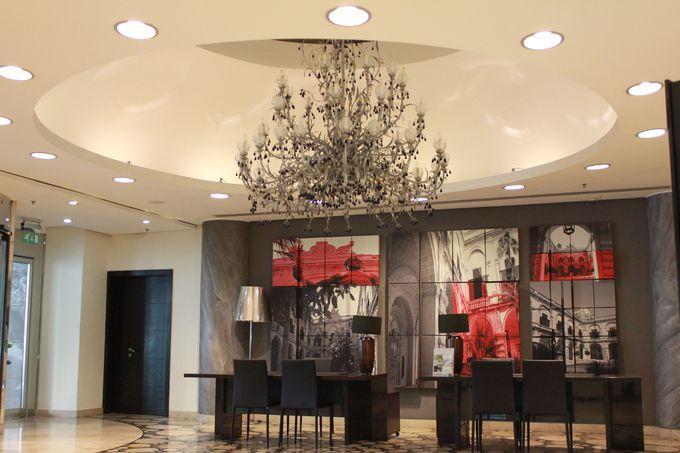 「5つ星ホテル」にふさわしい贅沢なインテリア