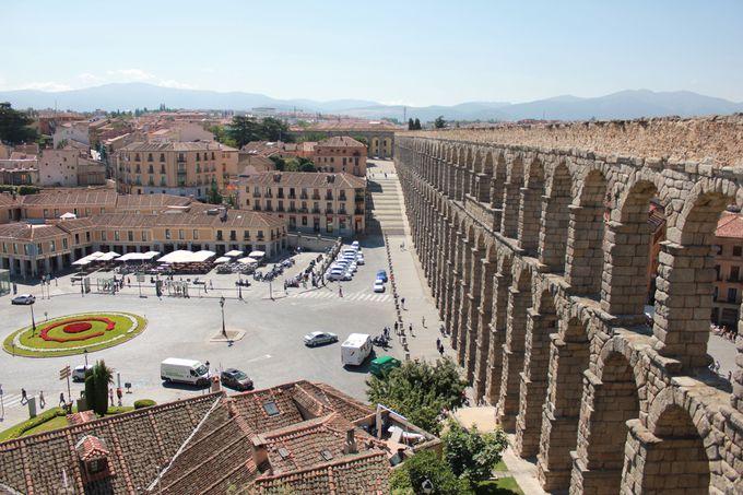ローマ人の富と技術の結晶「ローマ水道橋」