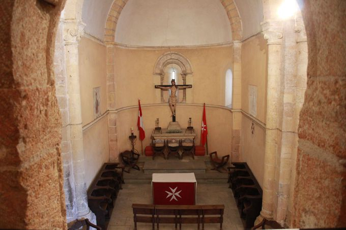 聖ヨハネ騎士団の精神を今に伝える「ラ・ベラ・クルス教会」