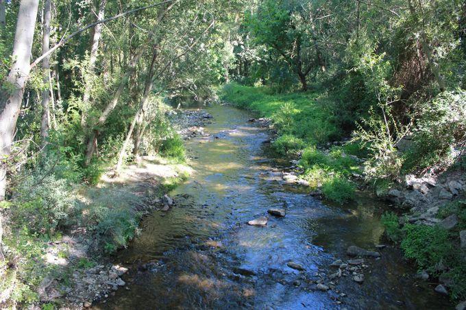 絶景スポット1:遊歩道とクラモレス川周辺