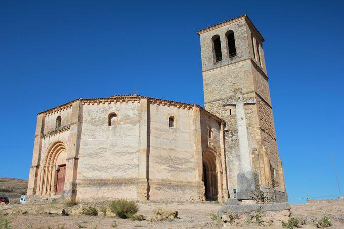 絶景スポット3:「ラ・ベラ・クルス教会」周辺