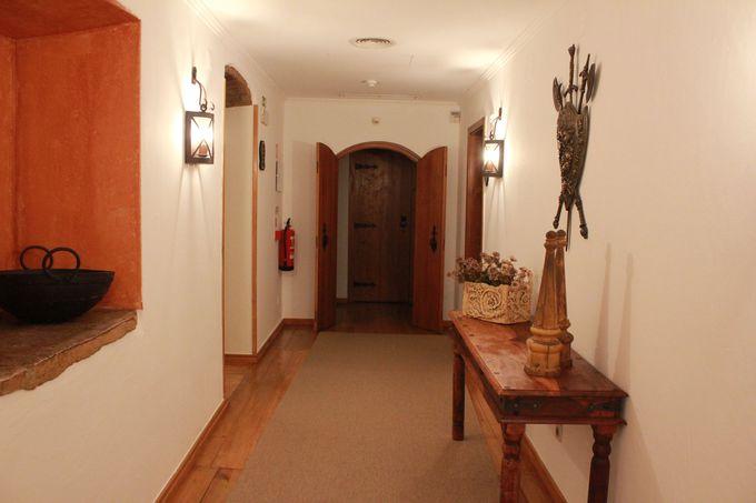 「中世と騎士」のエッセンスが随所にちりばめられた客室