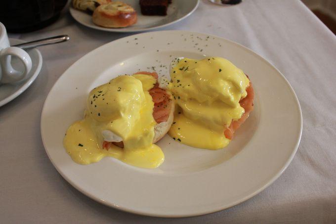 どれもおいしそう!注文を聞いてから調理される「朝食」