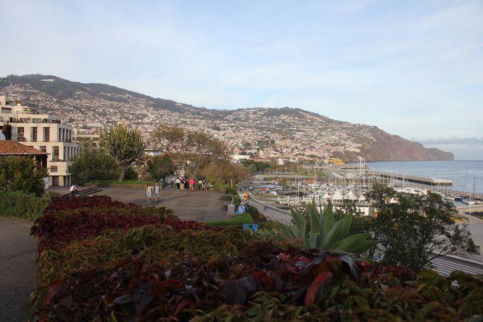 午後:市街地を一望できる「サンタ・カタリーナ公園」へ