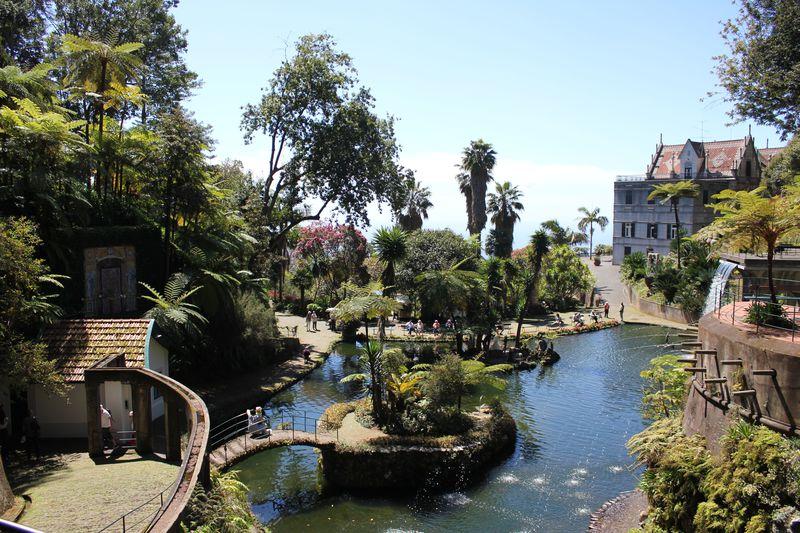 「モンテ宮殿熱帯植物園」ポルトガル領マデイラ島の理想郷