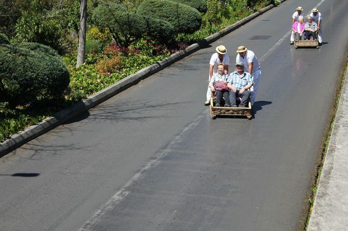 「ケーブルカー」と「ドボガン」でモンテの丘を満喫