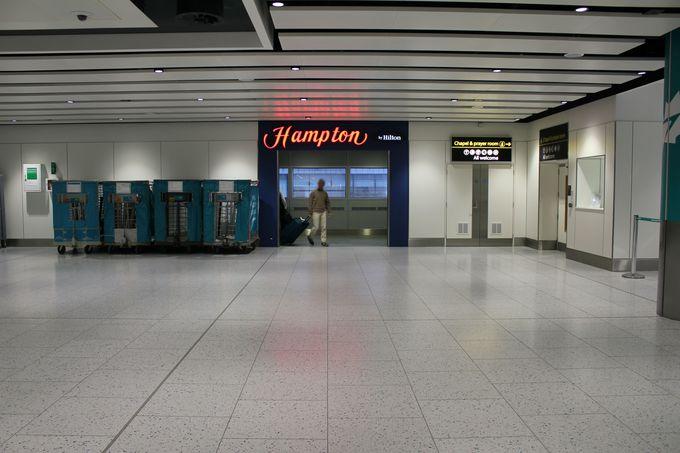 「空港直結」の素晴らしいロケーション