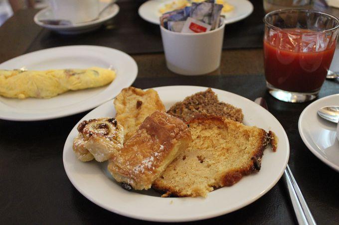 贅沢な空間で味わうおいしい「朝食」