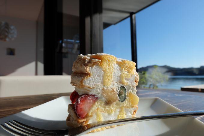 最高のケーキが最大の魅力