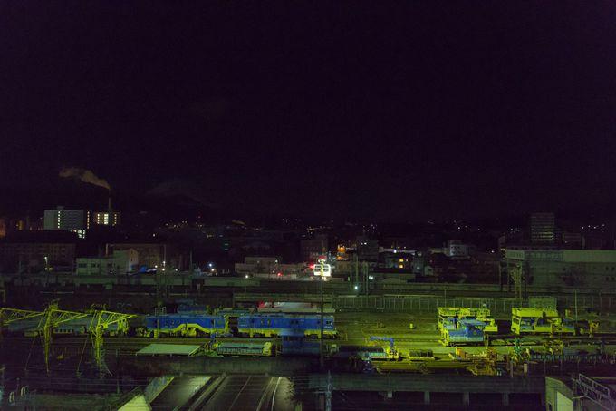 昼間だけでなく、夜の眺望もオススメ!