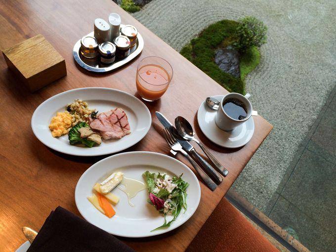 地産地消を意識した京都素材の朝食にもぬかりなし!