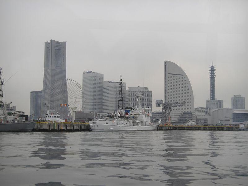 新スタイルの横浜旅行?シーバス移動とホテルのお部屋でスローな時間を満喫