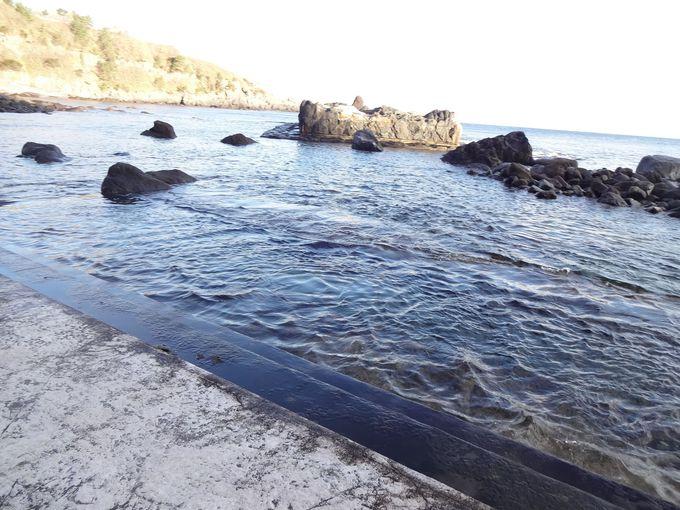 函館の海に沈む秘湯「水無海浜温泉」から大パノラマを堪能