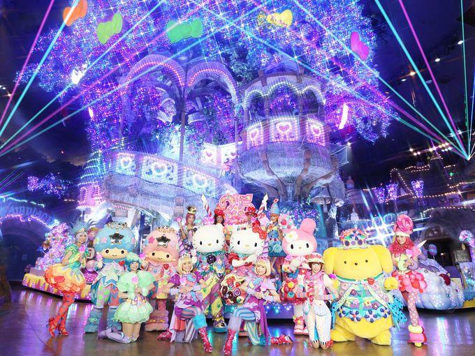 25周年記念パレードでキャラクターと一緒に踊ろう!