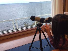 部屋に望遠鏡!子供も大人も楽しめるおもてなし「サロマ湖鶴雅リゾート」
