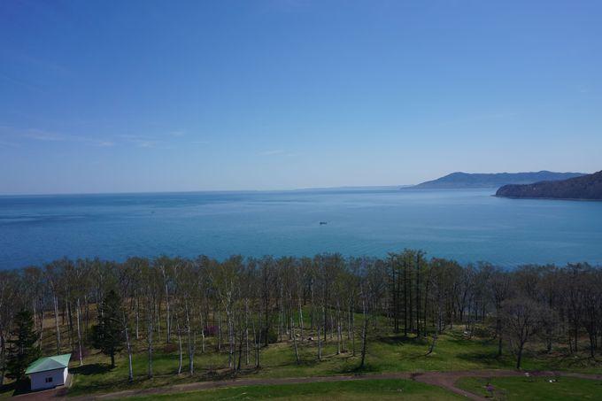 最北端の観覧車からは「サロマ湖」の絶景が!