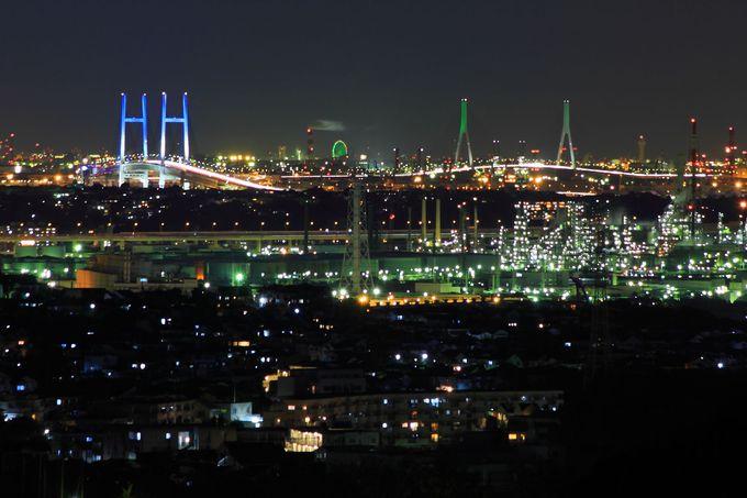 横浜ベイエリアもしっかり見える!