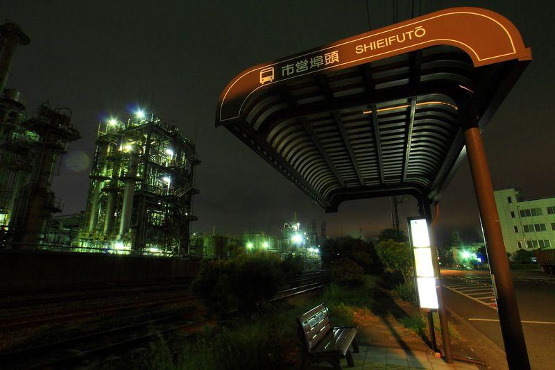 川崎の工場夜景スポットである「千鳥町」の見所をご紹介