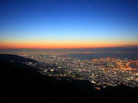 まるで地を這う天の川!「六甲山」おすすめ夜景スポット4選