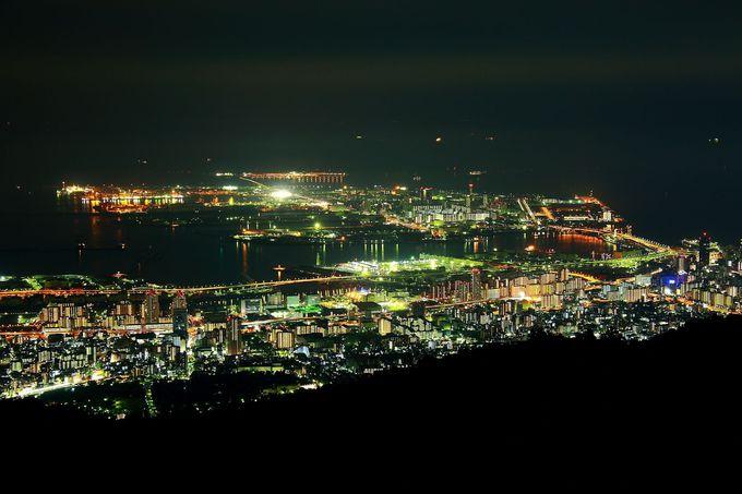 これぞ究極絶景夜景!六甲山系列で最高のおもてなしの「掬星台」