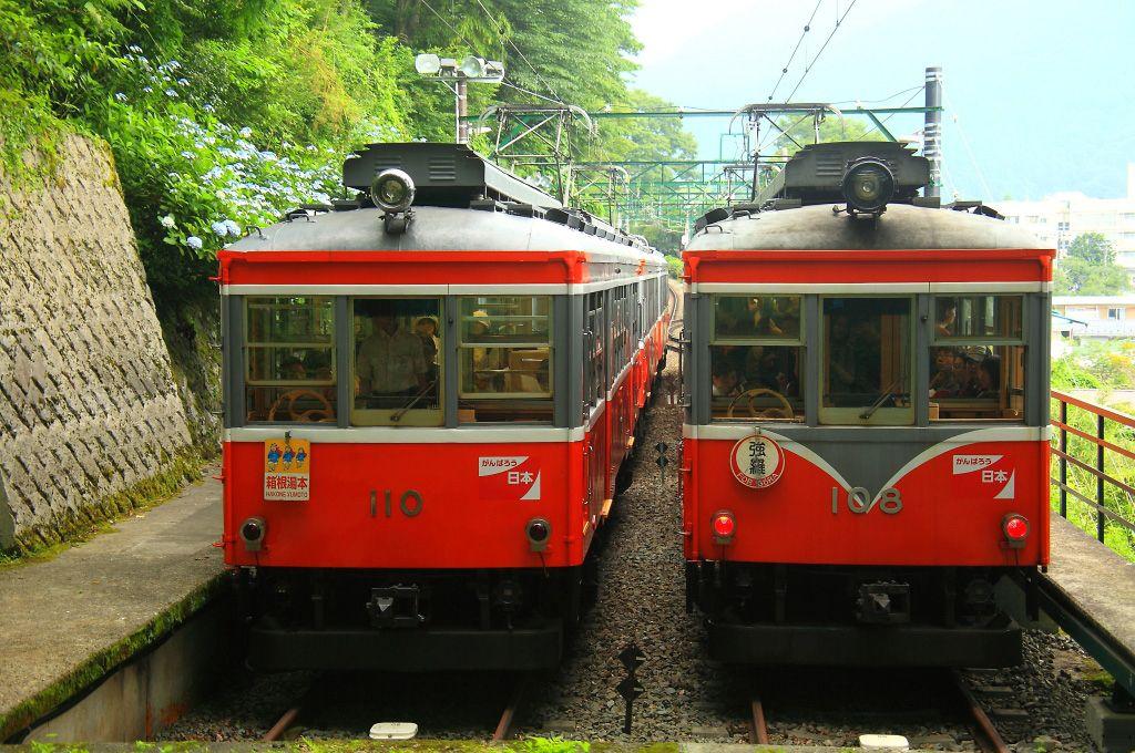 1.箱根登山電車