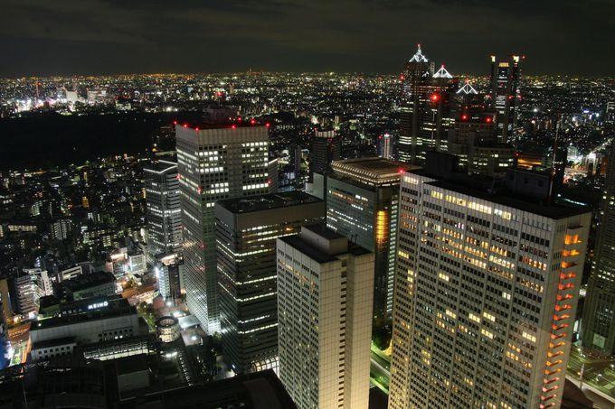 唯一新宿駅周辺を見ることができる!「新宿センタービル」