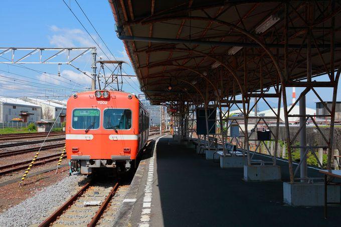 岳南電車のスタート地点「吉原駅」から「ジャトコ前駅」の紹介