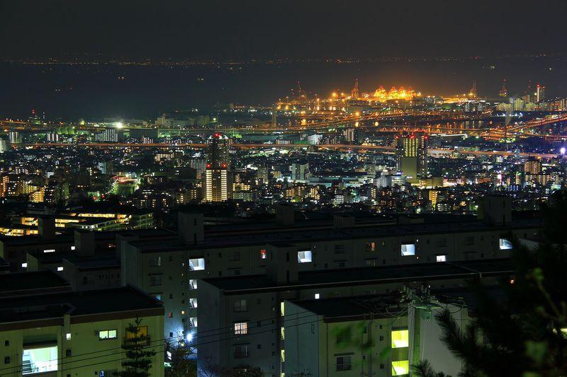 六甲山 夜景 スポット