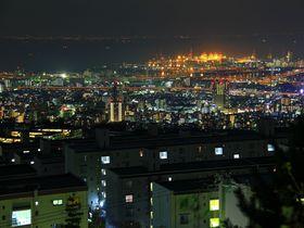 神戸の郊外夜景は一味違う!六甲山麓の穴場夜景スポット4選