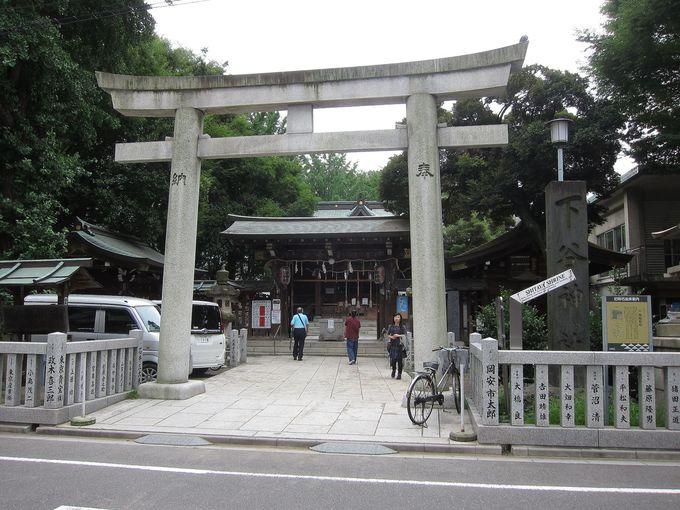 東上野のメインスポットといえば「下谷神社」