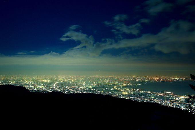 真っ暗な山道を勇気を出して進めば絶景が!「天狗岩」