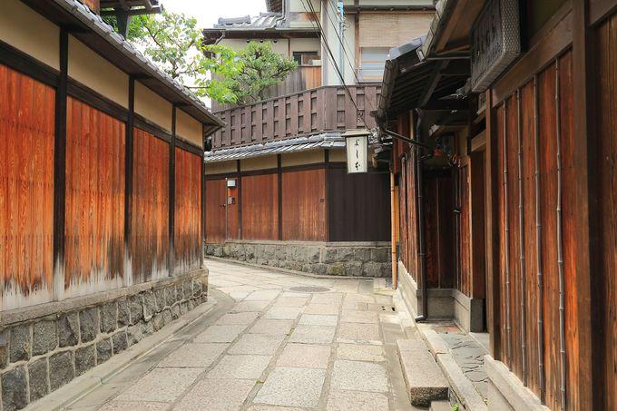 清水寺から徒歩13分:石塀小路