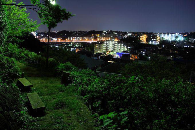 長尾エリアでもかなり入り組んだ場所にある神木本町緑地