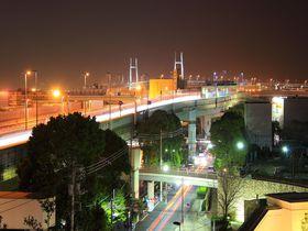 元町・中華街駅直結「アメリカ山公園」は夜の雰囲気も最高!