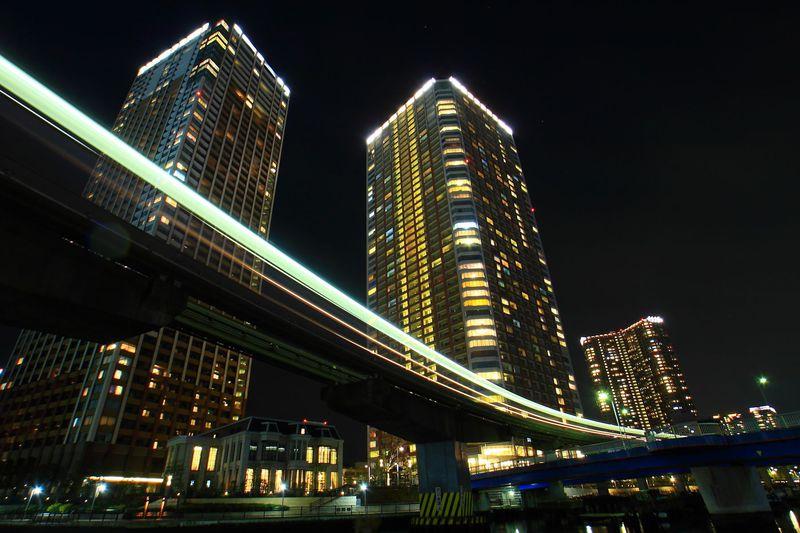 潮風漂う水辺夜景を見に行こう!東京「芝浦」周辺は整備された街並みが美しい!
