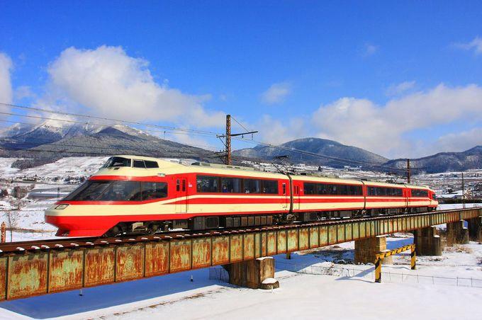 「長野電鉄」の中でも素晴らしい景勝地である「夜間瀬鉄橋」