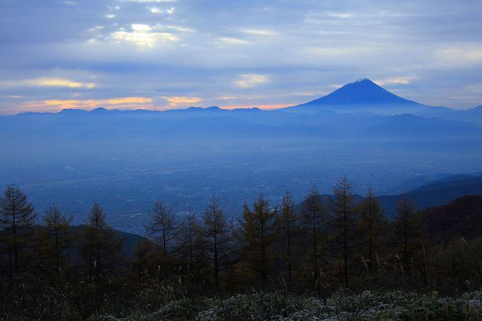 日が昇ったら山頂を目指してみよう!