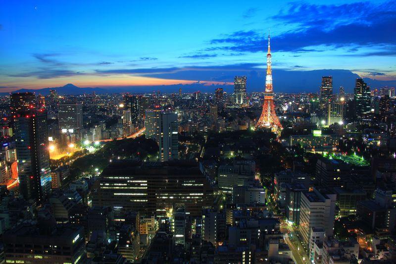 都心のランドマーク群を一望!東京「世界貿易センタービル」
