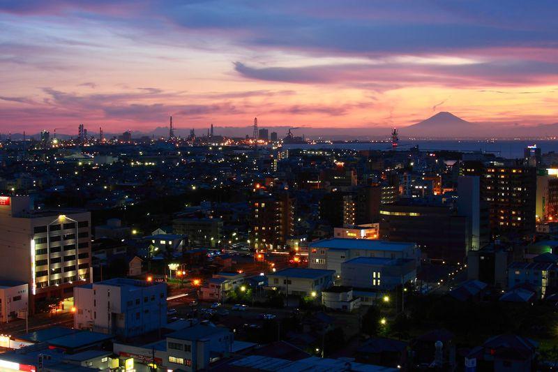 夜景100選に認定!木更津市「太田山公園きみさらずタワー」