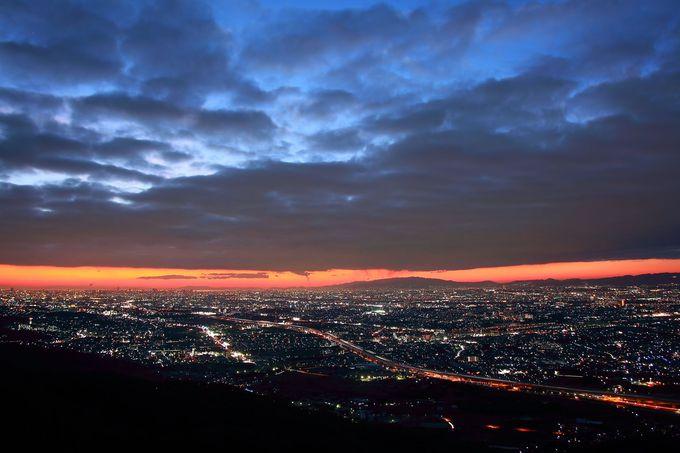 大阪平野を北から西へ一望!「交野山観音岩」