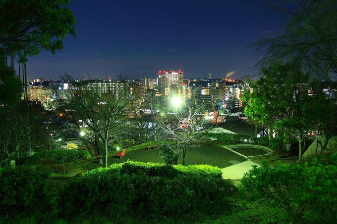 住宅街の中にある静かな公園「三春台第二公園」