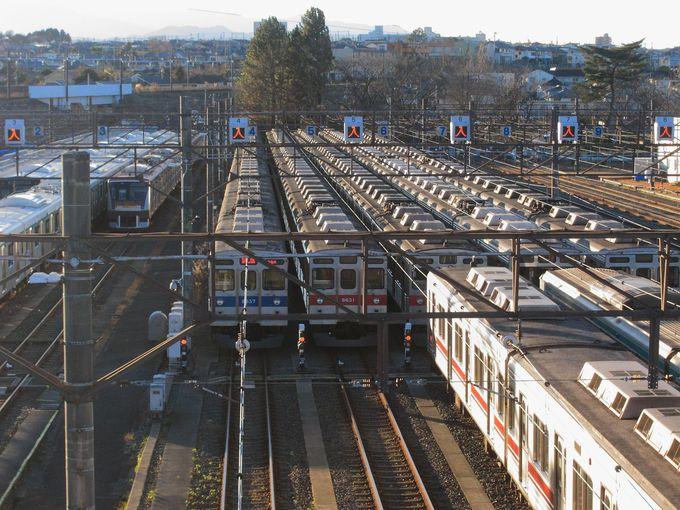 東急田園都市線といえども様々な車両が休む