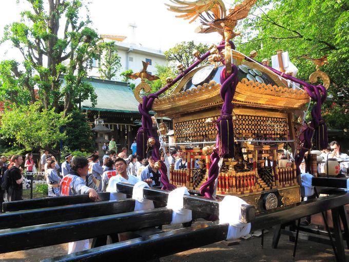 上野公園の片隅に佇む「五條天神社」