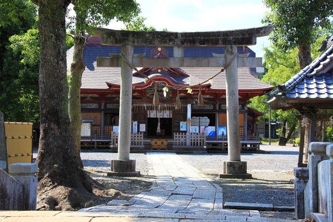 """通称""""牛頭天王宮""""と呼ばれる「夷隅神社」"""