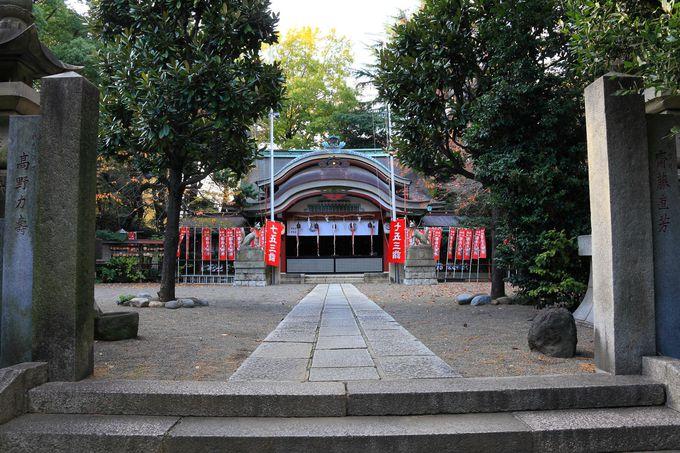 隣接する水稲荷神社も訪問しよう!