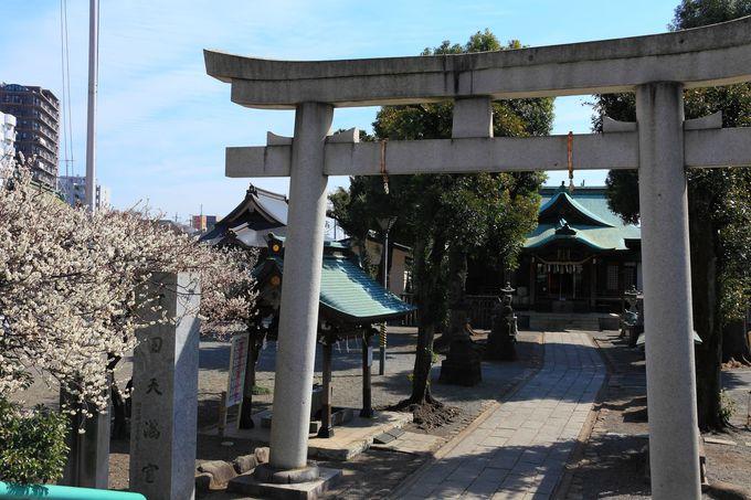 町田駅から一番近くにある「町田天満宮」