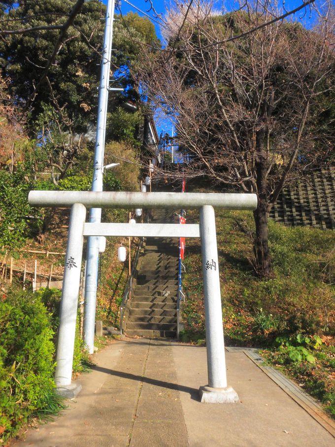 園内のあちこちにある小さな神社にも立ち寄ってみよう!
