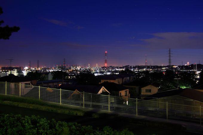 夕刻以降は夜景が美しい!