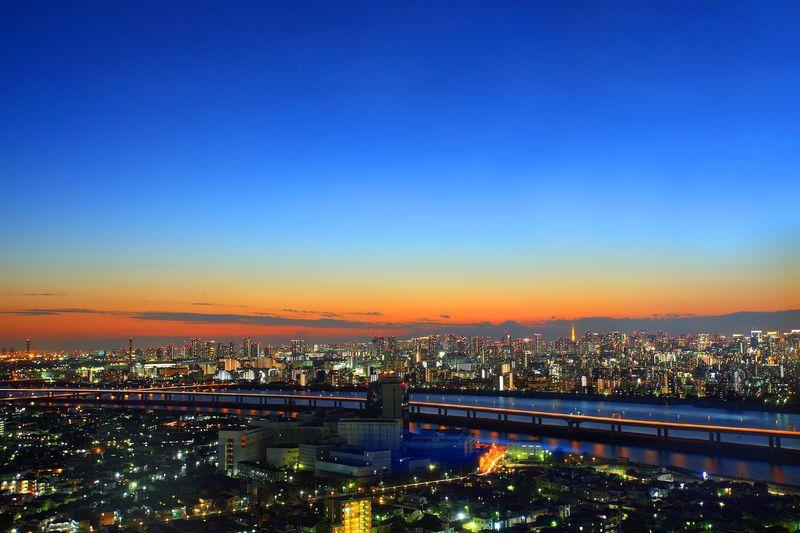 360度の大都会の夜景は無料で!東京「タワーホール船堀」