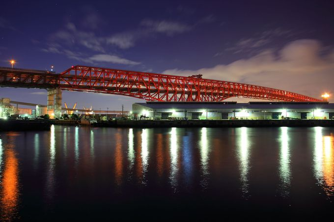 大阪の穴場夜景スポット「臨港緑地」は夜風が気持ち良い!
